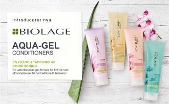 Aqua-gel conditioner: lättviktbalsam för tunna fina hår